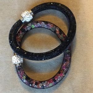 Two beautiful light magnet bracelets